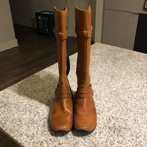 Vintage NWOT North Face Leather Boots